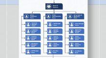 Company Organizational Chart Template Samples Chart Organizational Charts Template Examples