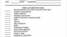 Daily Vehicle Inspection Checklist Sample PDF Checklist Vehicle Checklist Template Samples