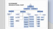 Government Organizational Chart Template Samples Chart Organizational Charts Template Examples