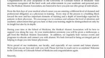 Medical School Acceptance Letter Example Template Letter Interesting Sample of Acceptance Letter Template