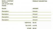 Simple Blank Invoice Template XLS Invoice 9+ Blank Invoice Template Samples