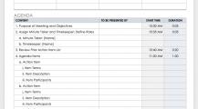 Team Meeting Agenda Schedule Template Sample MS Word Schedule 16+ Meeting Schedule Template Samples