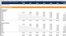 Depreciation Schedule Template Example XLS Schedule Depreciation Schedule Template Examples