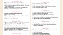 Bridal Beauty Checklist Template Example Sample Checklist Bride Checklist Template Samples