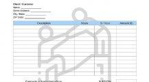 Caregiver Invoice Form Template Invoice Free Caregiver Invoice Template