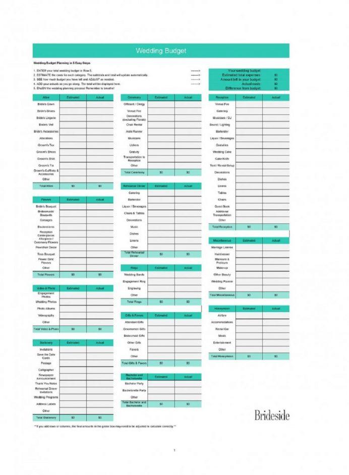 Free Wedding Budget Spreadsheet Template Format Sample Example Xls Examples Worksheet, Free, Simple Budget, Bridal Spreadsheet, Breakdown,