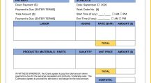 Equipment Work Order Form Word Template Invoice Equipment Work Order Template Sample