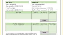 Lawnmower Maintenance Work Order Word Template Form Invoice Lawnmower Maintenance Work Order Template Sample