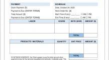 Handyman Work Order Form Word Template Work Order Handyman Work Order Template Example