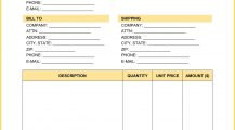 Screen Printing Invoice Word Template Invoice Screen Printing Invoice Template Example