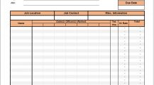 Timesheet Invoice Template Excel Invoice Timesheet Invoice Template Sample