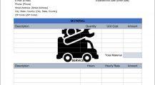 Truck Heavy Duty Maintenance Work Order Template Word Work Order Sample Truck (Heavy Duty) Maintenance Work Order Template