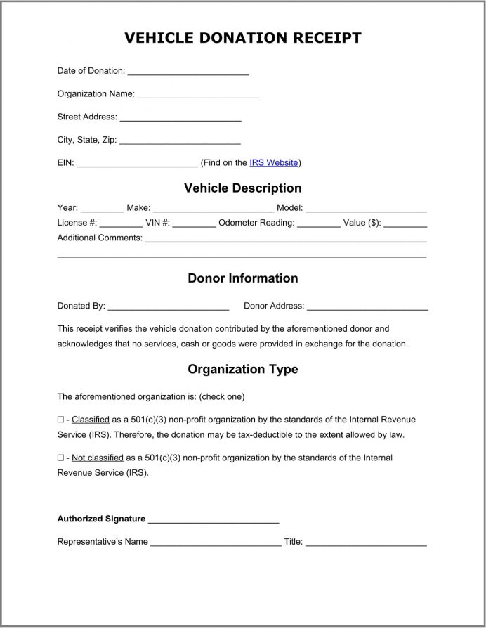 Vehicle Donation Receipt Template Word Example Sample Letter Requesting Car Donation, Template, Format, Tax Receipt, To Donate A Car,