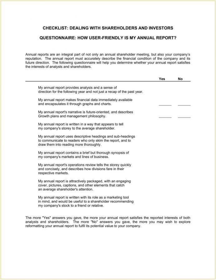 Checklist Dealing With Shareholders And Investors Template Word Sample Do Own The Company, Types Of Shareholders, How To Maximize Shareholder Value, Wealth, Concerns,