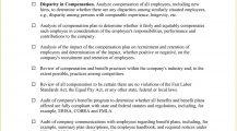 Compensation Benefits Audit Checklist Template Word Checklist Compensation and Benefits Audit Checklist Template Sample