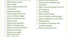 Christmas Fun Activity Checklist Template Word Doc Checklist Christmas Activity Checklist Template Sample