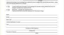 Iowa Form 411077 Odometer Disclosure Statement PDF Bill Of Sale Iowa Vehicle Bill of Sale Form Template