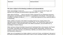 Farm Tractor Bill of Sale Form Template PDF Bill Of Sale Farm Tractor Bill of Sale Form Template Sample
